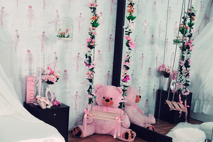 Ballerina Room camera tematica